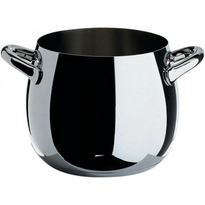 Alessi Mami Stockpot Mirror Polished Stainless Steel 24cm