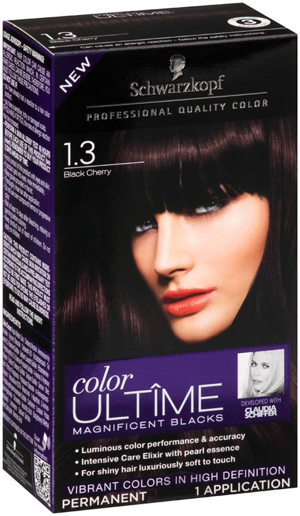 Schwarzkopf Color Ultime Magnificent Blacks 1 3 Black Cherry Hair