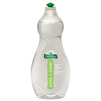 Colgate Pure and Clear Dish Liquid, Light Scent, 25 Oz Bottle