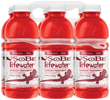 SoBe® Lifewater® 0 Calorie Yumberry Pomegranate Water Beverage 6 Pack 20 fl. oz. Bottles