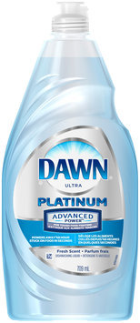 Advanced Power Dawn® Platinum Advanced Power™ Dishwashing Liquid Refreshing Rain™ 709 Ml