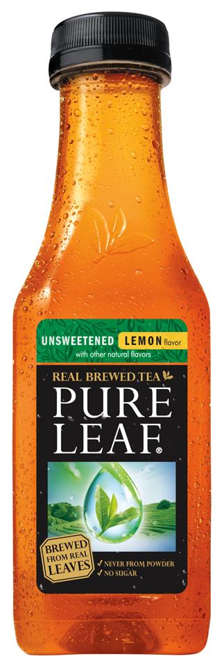 Lipton® Pure Leaf Real Brewed Unsweetened Lemon Iced Tea