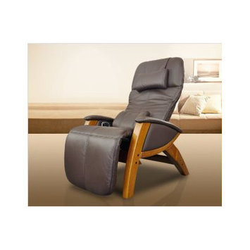 Cozzia Svago Lusso Massage Chair Color: Chocolate / Honey