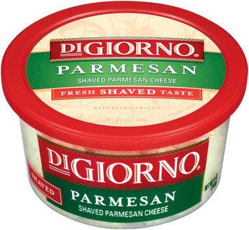 DiGiorno Parmesan Shaved Cheese 5 Oz Plastic Tub