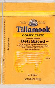 Tillamook® Natural Colby Jack Cheese Deli Slices 11 ct Bag