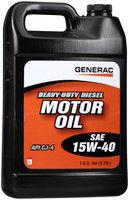 Generac® SAE 15W-40 Heavy-Duty Diesel Motor Oil 1 gal. Jug