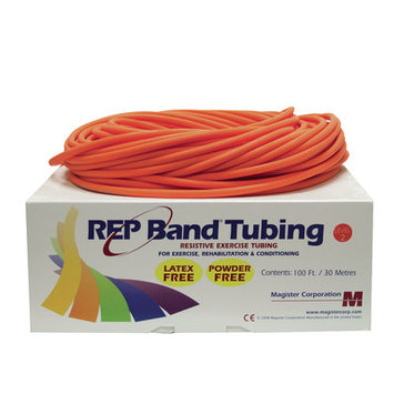 Rep Band Exercise Tubing Resistance: Level 2/Orange