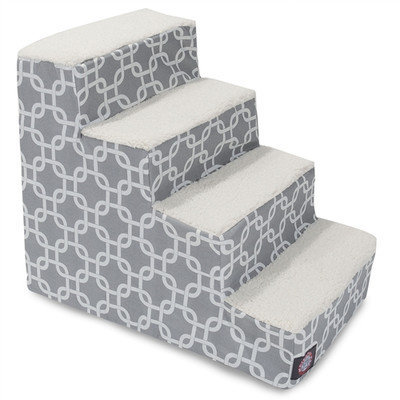Majestic Pet Products, Inc. Links 4 Step Pet Stair Color: Gray