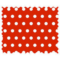 Stwd Polka Dots Fabric by the Yard Color: Red