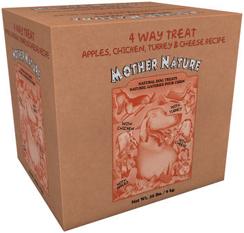 Mother Nature 4 Way Treat Natural Dog Biscuits 20 lbs