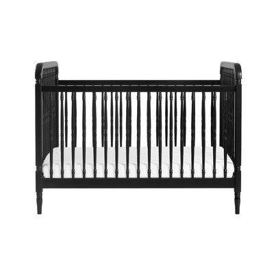 Million Dollar Baby Classic Liberty 3 in 1 Convertible Crib Finish: Black