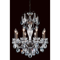 Schonbek 71082-49 Black Pearl Dorchester Crystal Three Light Up