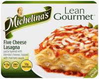 Michelina's® Lean Gourmet® Five Cheese Lasagna 8 oz. Tray
