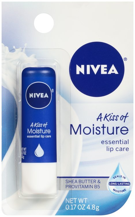 Nivea® A Kiss of Moisture Essential Lip Care 0.17 oz. Carded Pack