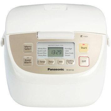 Panasonic 10-Cup Programmable Rice Cooker SR-DE103