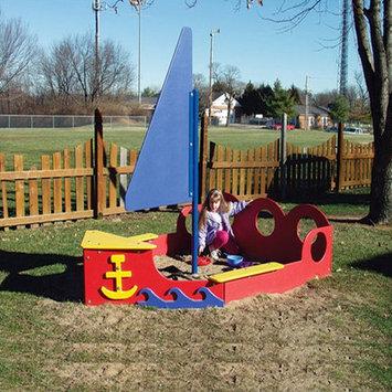 Sports Play 902-824 Sailboat Sandbox Play Ground Equipment