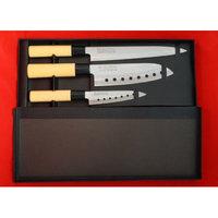 Concord Cookware PRO LINE 3 PCS Sushi Santoku Chef Knife Set. 3 Knives