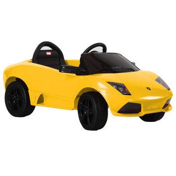 Vroom Rider Lamborghini Murci lago LP 640-4 Rastar 6V Battery Powered Car Color: Yellow