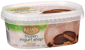 Kemps® Frozen Yogurt Shop™ Chocolate Peanut Butter Cup Frozen Yogurt 1.87 pt. Tub