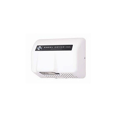 Excel Dryer Automatic Surface Mounted 208 / 230 Volt Hand Dryer in White
