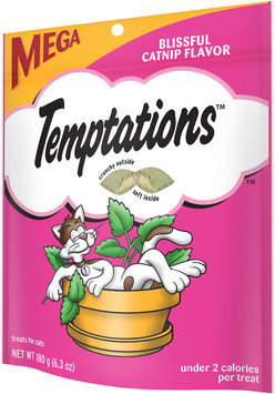 Temptations™ Blissful Catnip Flavor Treats for Cats 6.3 oz. Bag