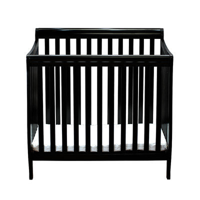 Afg International Alice Mini Crib with Mattress Finish: Espresso