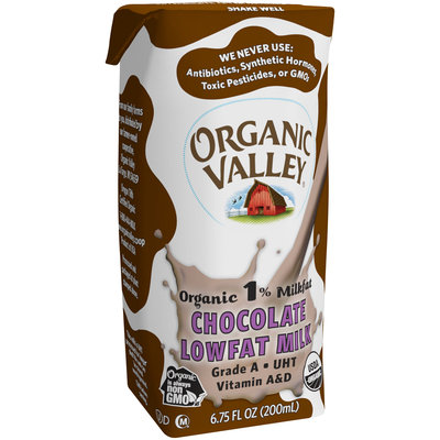 Organic Valley® Organic 1% Milkfat Chocolate Lowfat Milk
