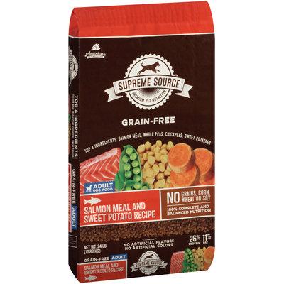 Supreme Source™ Grain-Free Salmon Meal and Sweet Potato Recipe Adult Dog Food 24 lb. Bag