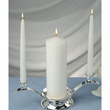Light Technology Pub Light In the Dark Elegant Unity Candle (Set of 3)