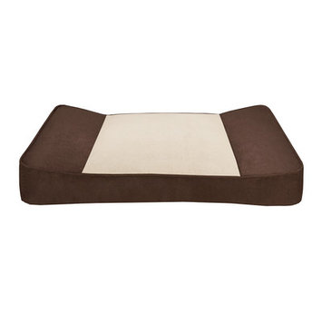 Soft Touch Shadow Pillow Top Stretch Lounger Dog Bed - 42