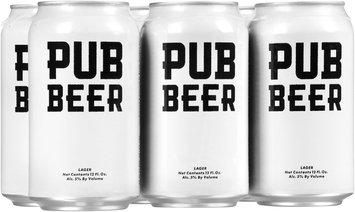 Pub Beer Lager 6-12 fl. oz. Cans