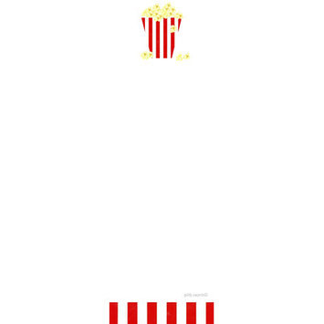 Giddy Paperie Popcorn Notepad