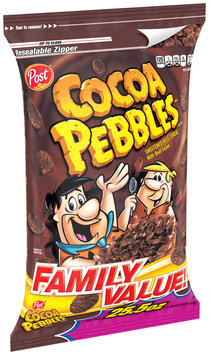 Post® Cocoa Pebbles™ Sweetened Rice Cereal