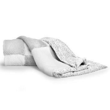 Cocalo Patchwork Fur Baby Blanket Color: Grey