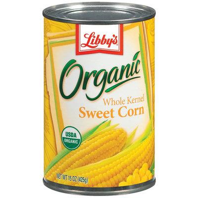 Libby's® Organics Sweet Whole Kernel Corn Organic 15 Oz Can