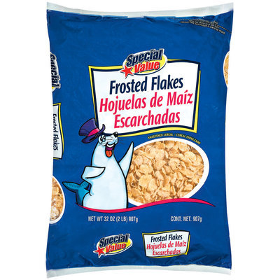 Special Value Sugar Frosted Flakes Cereal 32 Oz Bag