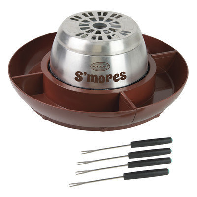 Nostalgia Electrics Electric Stainless Steel S'mores Maker