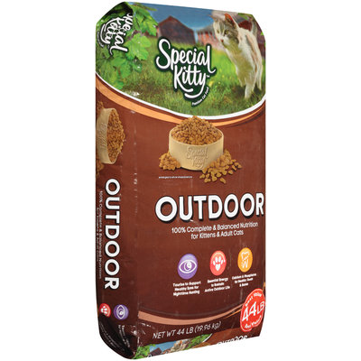 Special Kitty™ Outdoor Dry Cat Food 44 lb. Bag