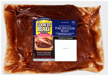 PrairieFresh Prime® Cook-In Bag® Canitas Seasonings Boneless Pork Shoulder Roast Pack