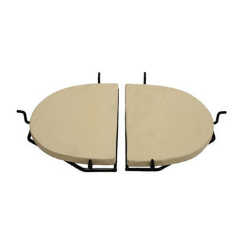 Primo Grills Ceramic Heat Reflector Plate for Extra Large Oval Grill