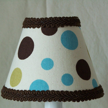 Silly Bear Dots in Color Table Lamp Shade