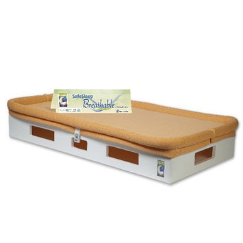 Secure Beginnings Heaven Sent Crib Mattress Sleep Surface (Orange)