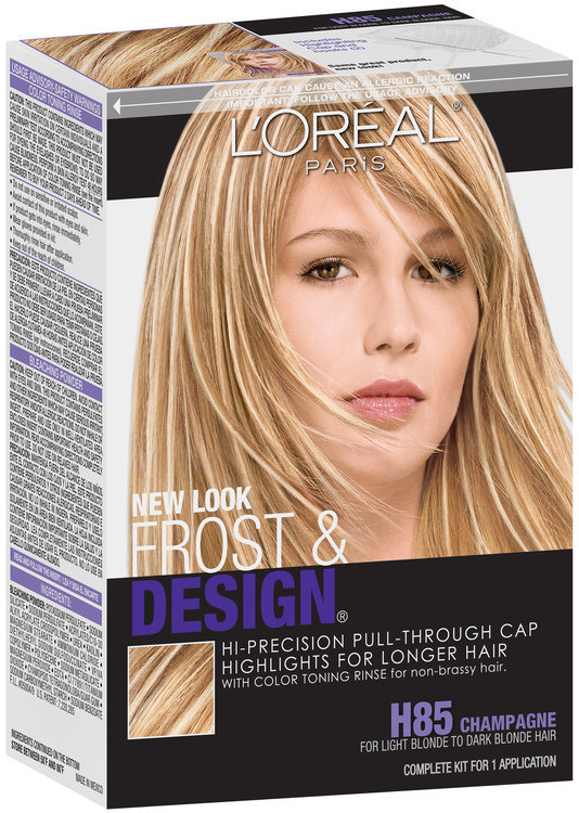 L Oreal Paris Frost Design H85 Champagne Hair Frost Kit