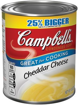 Campbell's Cheddar Cheese Condensed Soup 13.5 oz.