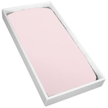 Kushies Baby Change Pad Sheet with Slits for Safety Straps, Pink