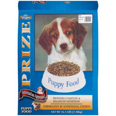 Springfield Prize Puppy Food 16.3 Lb Bag