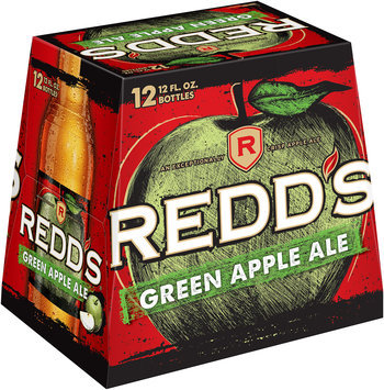 Redd's® Green Apple Ale 12-12 fl. oz. Glass Bottles