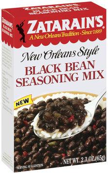Zatarain's® Black Bean Seasoning Mix 2.3 oz. Box