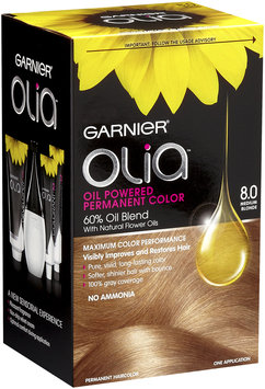 Garnier® Olia™ Oil Powered Permanent Haircolor, 8.0 Medium Blonde