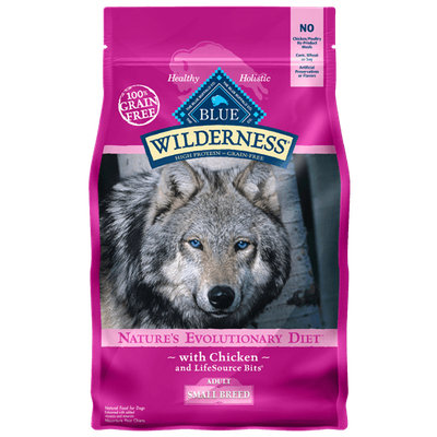 THE BLUE BUFFALO CO. BLUE™ Wilderness® Chicken For Small Breed Adult Dogs
